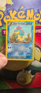 Pokemon - 1st edition Dark Croconaw  - 32/105 Neo Destiny NM 4120