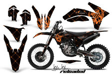 KTM Graphic Kit AMR Racing Bike Decal C7 Decal MX Part 11-13 RELOADED ORANGE/BLK