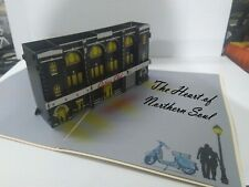 Northern Soul Wigan Casino 3D pop up Northern Soul Greeting Cards COLLECTIBLE
