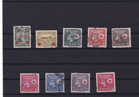 haiti red cross stamps ref r12127