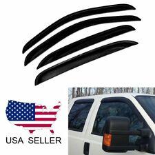 For 1999-2016 Ford F250 F350 Super Duty Sun/Rain Guard Window Visors Crew Cab