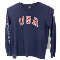 Polo Ralph Lauren 2016 USA Olympic Team Long Sleeve Shirt Men's Size XL RARE