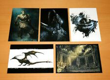 Dark Souls Prepare to Die Edition Rare Art Cards Card Set Xbox 360 Playstation 3