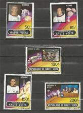UPPER VOLTA  - 1973 Airmail - Apollo 17   - USED SET.