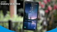Samsung Galaxy S8 Active G892A GSM Unlocked 64GB ALL COLORS