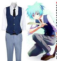 Ansatsu Kyoushitsu/Assassination Classroom Shiota Nagisa Cosplay Costume Uniform