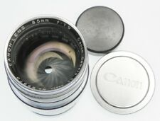 "Canon RF Chrome 85mm f1.9 ""EP"" Leica SM  #65370"