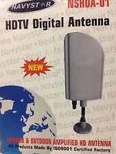 NavyStar Digital TV Antenna Amplified Indoor Outdoor HDTV/UHF/VHF Reception