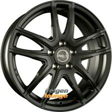 4x ProLine Wheels VX100 Black Matt (BM) 7,5x18 ET38 4x100 ML63.3 Alufelgen