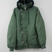 Independent Truck Company Mens Medium Olive Military Green Jacket M393