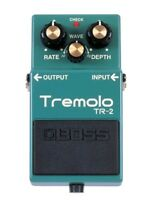 Boss TR-2 Tremolo Guitar Effects Pedal Stompbox Footswitch NEW + Free 2-Day