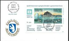 GREENLAND - 1987 'HAFNIA 87 DAN MARK' Miniature Sheet  First Day Cover [6719]