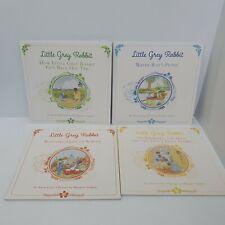 4 x Little Grey Rabbit books Alison Uttley like new (o)