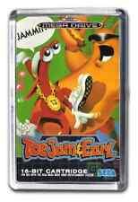 Sega Megadrive Toejam & Earl Cover Art Fridge Magnet Design