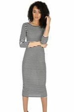 Polyester T-Shirt Dresses Midi for Women