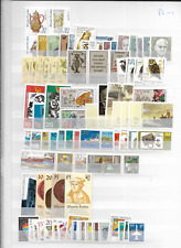 1982 MNH  DDR, east germany, year collection (2 scans)