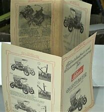 NOTICE ORIGINALE SCHUCO 1966 (4 LANGUAGES) OLDTIMER TIN TOY OPEL DOCTOR 1909