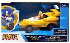 """Sonic The Hedgehog Pullback Racers Tails Vehicle 5"""" inches New In Box Licensed"""