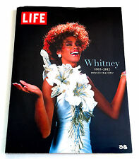 WHITNEY HOUSTON Life 1963-2012 JAPAN PHOTO BOOK 2013 w/Discography paper