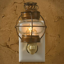 Sea Lantern Bubble Glass Night Light Wall Plug In Park Designs Home Room Decor