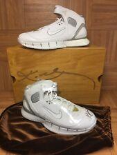 RARE🔥 Nike Kobe Bryant Huarache 2K5 Autographed Shoe Wood Box Laser Signed Too