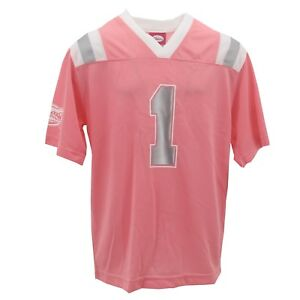 Florida Gators Official NCAA Kids Youth Girls Size Pink Football Jersey New Tags