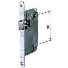 """Serratura AGB serie """"Centro"""" tipo Patent - solo scrocco - frontale stretto 18 mm"""