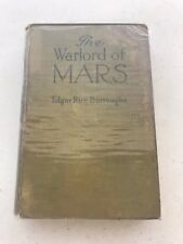 The Warlord of MARS by Edgar Rice Burroughs (1919) Grosset & Dunlap