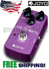 JOYO JF-34 US Dream Distortion Guitar Effects Pedal True Bypass US Dealer