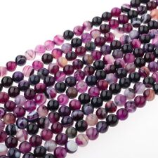 Pierre naturelle de violet fait bricolage perles bijoux accessoires Bracelets