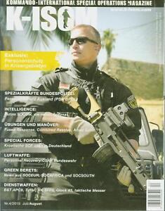 K-ISOM 4/2015 Spezialkräfte Magazin Kommando Bundeswehr Waffe Eliteeinheiten SOC