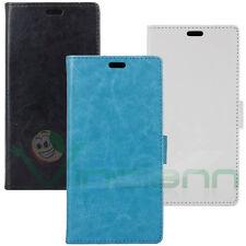 Custodia FLIP COVER per Sony Xperia E5 case stand+tasche booklet libretto nuova