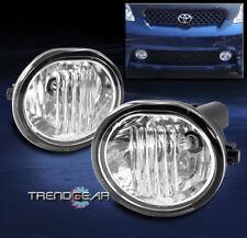 BUMPER DRIVING FOG LIGHT LAMP CHROME W/SWITCH FOR 2003-2008 TOYOTA MATRIX XR XRS