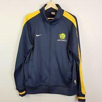 AUSTRALIA Socceroos Nike Mens Size L 2007 Asian Cup Team Jacket