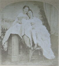 Stereoview - Vintage French Nude - Lesbian Interest   ST1