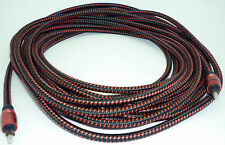 Audioquest OptiLink-3  15 meter Digital Toslink Fiber Optic Cable 49 feet