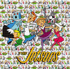 The JETSONS  - perforated sheet BLOTTER ART psychedelic acid free paper