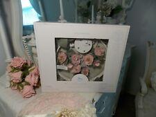 (1) New Pottery Barn Baby Shabby Pink Rose Crib Musical Nursery Mobile -Nip