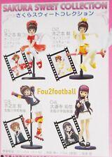 4 Cardcaptor Sakura card captor Japan Anime Figures gashapon sweet collection