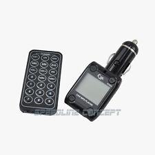 Car Mp3 Player Fm Transmitter Modulator Usb Sd Tf Led Remote