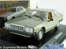 MASERATI QUATTROPORTE III MODEL CAR 1983 1:43 SCALE IXO GREY SALOON K8Q