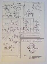 Original Viscount Organ Bahia De Luxe Venus Schematic Diagram Diagramma