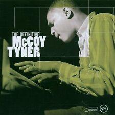 McCoy Tyner-The Definitive McCoy Tyner Verve/BLUE NOTE CD