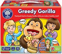 Orchard Toys GREEDY GORILLA Educational Game Puzzle BN