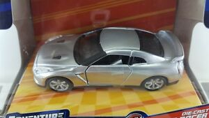 '16 MAISTO NISSAN GT-R 1:39 SCALE NEW IN BOX ADVENTURE FORCE SERIES