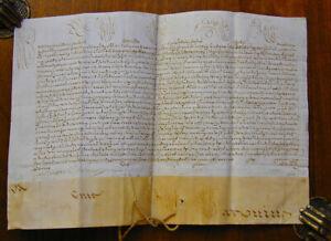 [PAPAL DOCUMENTS] [BENEDICT XIV (1675 - 1758]. Manuscript document, a Papal Bull