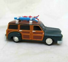 LEMAX Vintage Nostalgic Car Christmas Village Accessory Summer Beach Wagon