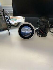 Amazon Echo Spot Clock Smart Alexa Assistant White