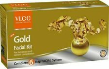 VLCC 60gm Gold Single Facial Kit Natural Glowing Looks Christmas Sale Special
