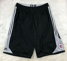 "NBA Los Angeles Clippers Adidas Player ID 13"" Game Shorts Men's 3XLT Black"